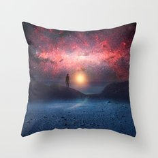 A new beginning II Throw Pillow