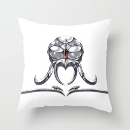 Imirik Crimsonfang, The Red Angel Throw Pillow