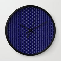 scales Wall Clocks featuring Scales by Cherie DeBevoise