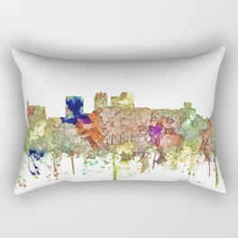 Birmingham, Alabama Skyline SG - Faded Glory Rectangular Pillow