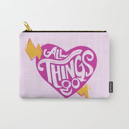 All Things Go Carry-All Pouch