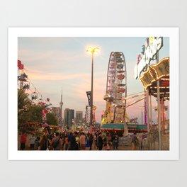 Fair Sunset Art Print
