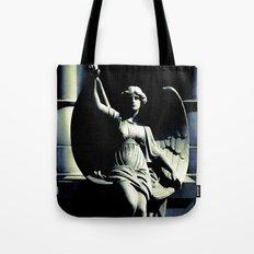 Art Deco Angel Tote Bag