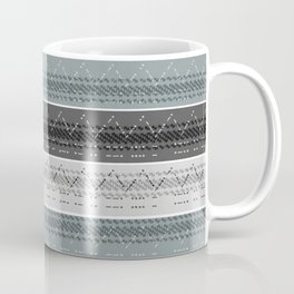 Morse Code Stripe Coffee Mug