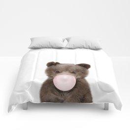 Bubble Gum Bear Cub Comforters