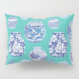 Chinoiserie Ginger Jar Collection No.5 Pillow Sham