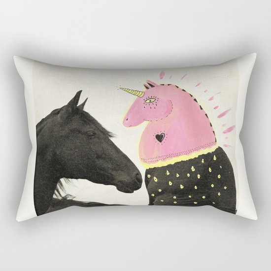 goodbye horses Rectangular Pillow