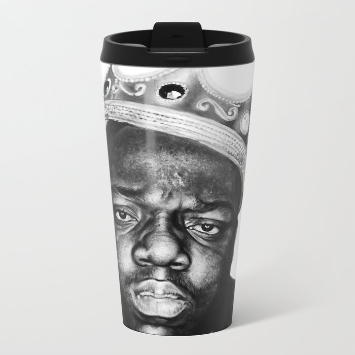 """It was all a dream"" Metal Travel Mug"