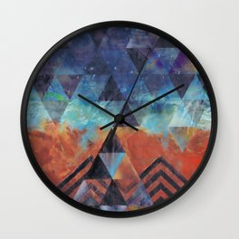 Astral-Projectionist Wall Clock