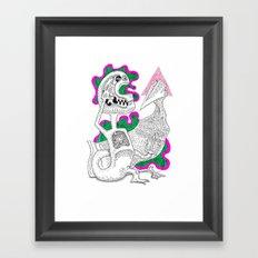 Aye Captain Framed Art Print