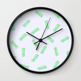 Exclamation mark Wall Clock