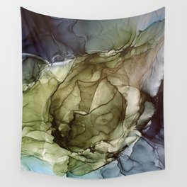 Calm Nature- Earth Inspired Abstract Painting Wall Tapestry