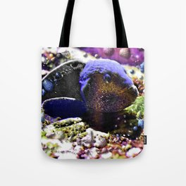 Wild Fishy Story By A Blue Fish Tote Bag