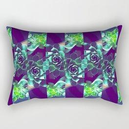 Home Pattern Rectangular Pillow