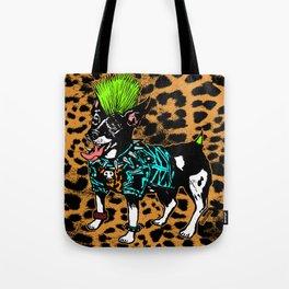 Punk Dog Tote Bag