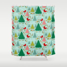 Griswold Family Christmas Shower Curtain