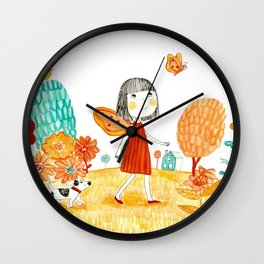 A walk to remember Wall Clock