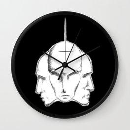 Trine Leer Wall Clock