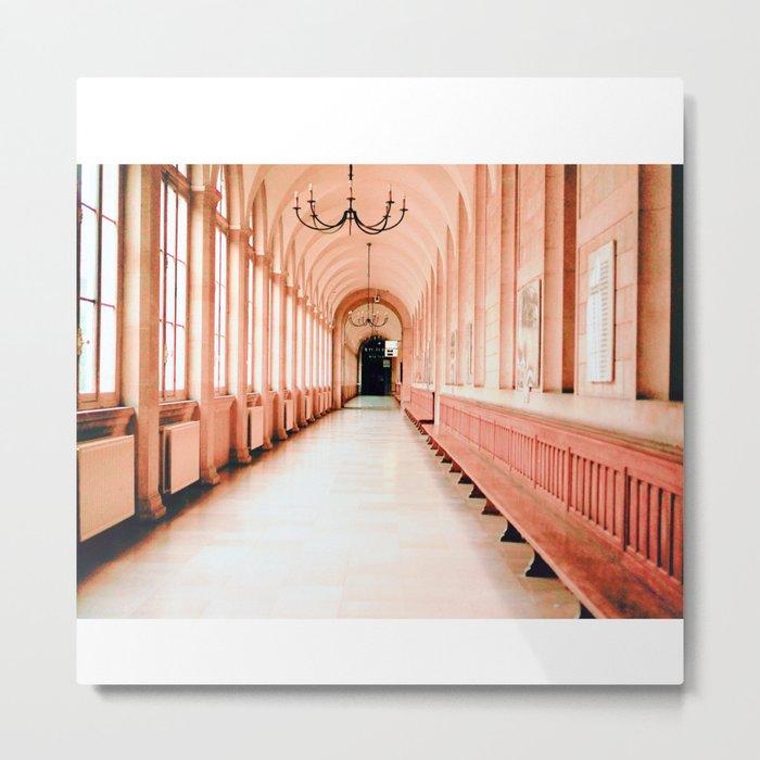 Dreamy Corridor Metal Print