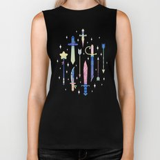 Magical Weapons Biker Tank