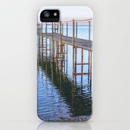 Old Dock on the Beach iPhone Case
