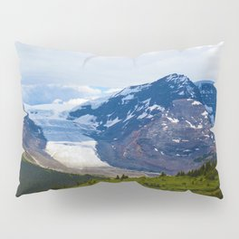 View along the Wilcox Pass Hike in Jasper National Park, Canada Pillow Sham