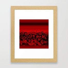 Swish IV Framed Art Print