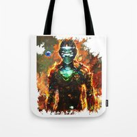 dead space Tote Bags featuring dead space by ururuty