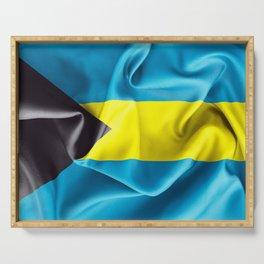 Bahamas Flag Serving Tray