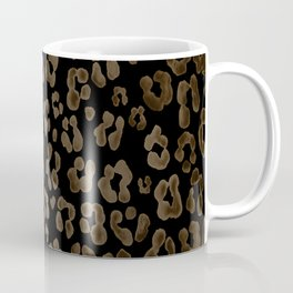 Dark Leopard Coffee Mug