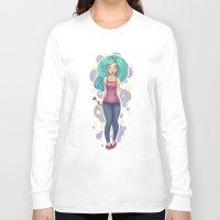 polka Long Sleeve T-shirts featuring Polka by Jessica May