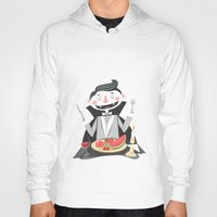 vegan Hoodies featuring Vegan Vampire by Ukko