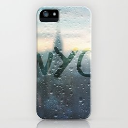 Rainy Day in NYC iPhone Case