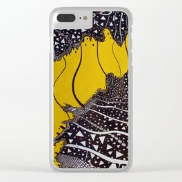How deep is the sea! Clear iPhone Case