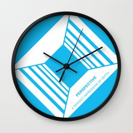 Design Principle NINE - Perspective Wall Clock