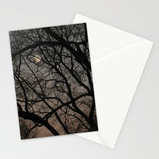 ghost moon Stationery Cards