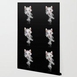 Smokey kat Wallpaper