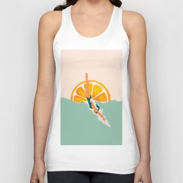 Girl Dive Unisex Tank Top