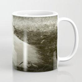 Lounging Peacock in the Shade Coffee Mug