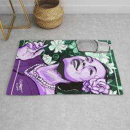 Jazz Legends: Billie Holiday Rug