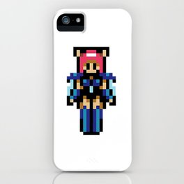 Rika Party Member (pixel) iPhone Case