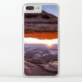 Mesa Arch Clear iPhone Case