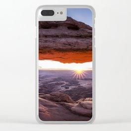 Mesa Arch Clear iPhone Case