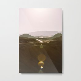 Death Valley Sunrise Metal Print