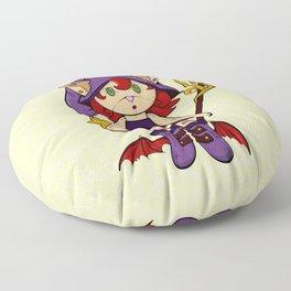 Purple Sorceress Floor Pillow