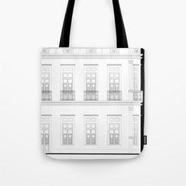 Brazil Facade Tote Bag