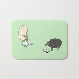 Hungry Sheep Bath Mat