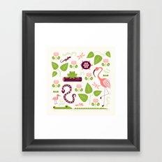 Everglades Framed Art Print
