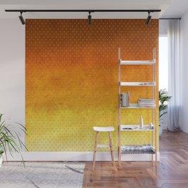 """Sabana Sunset Degraded Polka Dots"" Wall Mural"