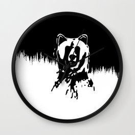 Bear Spirit Wall Clock